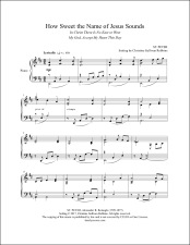 How Sweet the Name of Jesus Sounds Piano Sheet Music