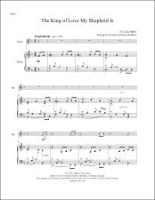 The King of Love My Shepherd Is Oboe Sheet Music