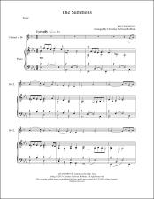 The Summons Clarinet Sheet Music
