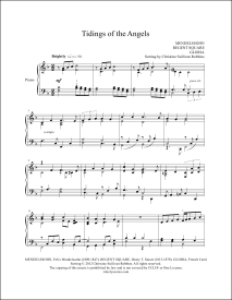 Tidings of the Angels Piano Sheet Music