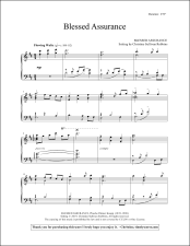 Blessed Assurance Piano Sheet Music
